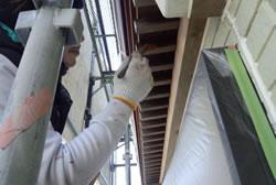 鉄部、木部などの付帯塗装